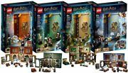 New Lego Harry Potter Hogwarts Moment 4 Sets 76382 76383 76384 76385 In Hand