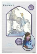 Disney Frozen 2 Elsa And Water Nokk Lights And Music Jewelry Box With Snowflake Ring