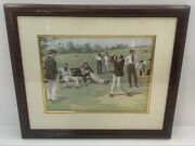 Vintage Saturday Afternoon By A. B. Frost No. 1312 1851-1928 Framed Lithograph