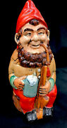 Antique Rosskopf And Gerz German Beer Stein Titled Gnome No 430 .5 L