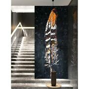 Advanced Feather Mosaic Decorative Painting Background Wall Tile Mosaic Cut