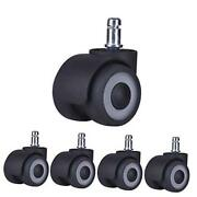 2andrsquoandrsquo Office Chair Caster Wheels Newly Revolutionary 2 Ball Bearing Design