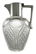 Antique - John Grinsell And Sons - Sterling Silver Claret Jug / Decanter 1911