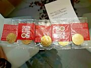Mcdonalds 50 Years Of Big Mac Collectors Coin Complete Set Rare