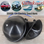 Train Horn 300db 12v Super Loud Electric Snail Air Horn Motorcycle Truck Boat