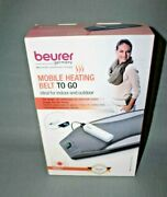 New Beurer Germany Hk67 Mobile Heating Belt To Go With Power Bank And Storage Bag
