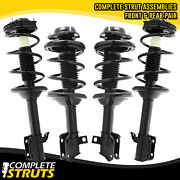 Front And Rear Quick Complete Strut And Coil Springs Bundle For 98-99 Subaru Legacy