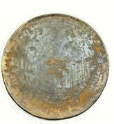 Bronze Plate Mirror Engraved Beautifully With Rare Story From Ancient Roman's