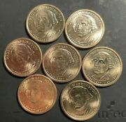 7 Total George Washington One Dollar Coin Vn 7 Of Them
