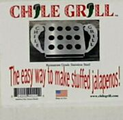 The Original Chile Grill Chili Grill Jalapeno Grill Rack 12 Holes