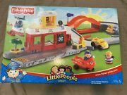 Nib New 2003 Fisher Price Little People Airport Red Collectible Discontinued