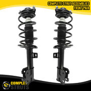 Front Pair Complete Struts And Coil Springs For 2015-2019 Hyundai Santa Fe