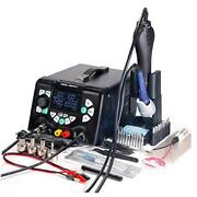 853d 5a-ii 3 In 1 Hot Air Rework Soldering Iron Station And Dc Power Supply