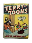 Golden Age Terry Toons 2 Timely Comics Rare Gd/vg  346