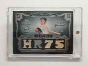 2006 Topps Sterling Mickey Mantle Career Home Runs Hr75 08/10 Nm 859