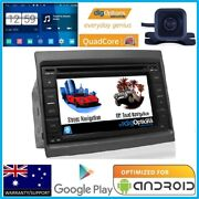 Android Gps Navigation Bluetooth Car Player Radio Stereo Dvd W/cam For Holden