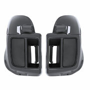 Vented Lower Lowers Fairing Fit For Harley Street Electra Glide 14+ Gunship Gray