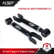 Ksp Adjustable Front Upper Control Arm 0and039and039-8and039and039 Lift For Wrangler Grand Cherokee