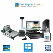 Point Of Sale System Retail Market Pos W/incounter Scanner And Scale Pcamerica Cre