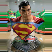 Mirage Hack Studio Superman 1/1 Scale Bust Painted Statue In Stock In Box New