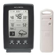 Wireless Weather Station Forecast Home Temperature Indoor Outdoor Thermometer