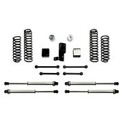 For Jeep Wrangler 18-19 Fabtech 3 X 3 Sport Front And Rear Suspension Lift Kit