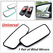 2x Side Auxiliary Blind Spot Wide View Mirrors 360anddeg Large Rearview Rv Van Truck
