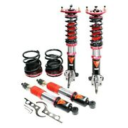 For Toyota Corolla 85-87 Godspeed Project Mono Maxx Front And Rear Coilover Kit