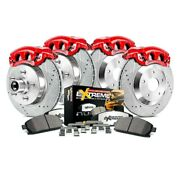 For Ford Excursion 03-05 Brake Kit Power Stop 1-click Extreme Z36 Truck And Tow
