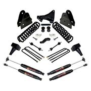 For Ford F-250 Super Duty 17-19 6.5 X 5 Front And Rear Complete Big Lift Kit