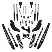 For Ford F-250 Super Duty 17-19 6 4-link Stage 3 Front And Rear Complete Lift Kit