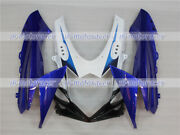 White Blue Front Nose Cowl Upper Fairing Fit For Gsxr 600/750 2011-2018 K11 A12