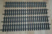 Lgb G Scale Railroad Tracks, No. 1000, Total Of 5100 Mm Of Straight Track, Used