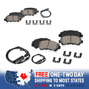 Front And Rear Ceramic Brakes For 2006 - 2009 Land Rover Range Rover Sport Hse