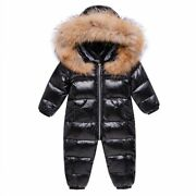 -30 Winter Snowsuit Boy Baby Jacket 90 Duck Down Outdoor Infant Clothes Girls