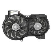 For Audi A6 Quattro 05-11 Pacific Best Dual Radiator And Condenser Fan Assembly