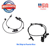 2 Abs Wheel Speed Sensor Front Right And Left Fit Toyota Rav4 2006-2018 4wd And Fwd