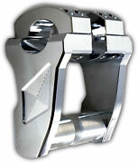 Rox Speed Fx Patriot Series Pivoting 3 Risers 1 Bar And Clamp Chrome
