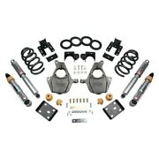 For Chevy Silverado 1500 17-18 Belltech 3-4 X 5-6 Front And Rear Lowering Kit