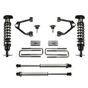 For Chevy Silverado 1500 19 Suspension Lift Kit 3.5 X 1.5 Budget Ball Joint