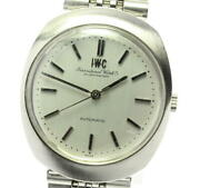 Schaffhausen Antique Silver Dial Automatic Menand039s Watch_571868