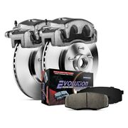 For Ford E-350 Super Duty 08-19 Brake Kit Power Stop 1-click Autospecialty