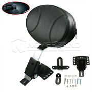 For Harley Davidson Touring Custom Motorcycle Plug-in Driver Rider Backrest Pad