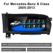 Android Car Gps Radio Video Wireless Carplay For Mercedes Benz S Class 2005-2013