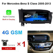 Android 10 Car Gps Video Wifi Auto Wireless Carplay For Benz S Class 2005-2013