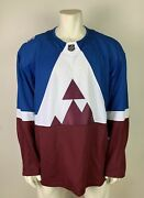 Adidas Mens Colorado Avalanche Stadium Series Air Force Academy Jersey Size 58