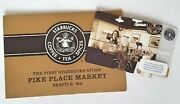 2006 Starbucks Gift Card Pike Place Market First Store Seattle Wa 5 Value New