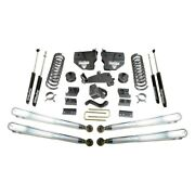For Ram 2500 14-18 4 X 1 Maxpro Front And Rear Suspension Lift Kit