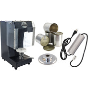 Cannular Pro Bench Top Aluminum Beer And Tin Can Seamer W/ Cans And Power Supply