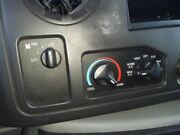 Temperature Control Front Main With Ac Fits 05-19 Ford E350 Van 1712988